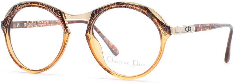 Christian Dior 2624 80 Brown Authentic Women Vintage Eyeglasses Frame