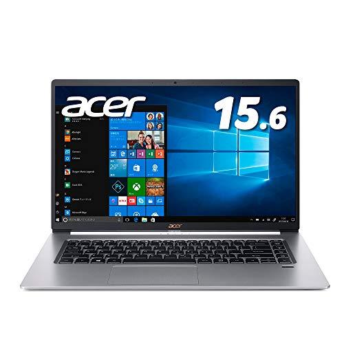 Acer ノートパソコンSwift 5/軽さ990g/薄さ15.9mm/15.6型FHD IPSタッチパネル/Corei7/8GB/SSD256GB/ドライ...