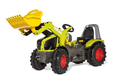 Rolly Toys Trettractor RollyX-Trac Premium Claas Axion 950 (voor kinderen van 3-10 jaar, fluisterbanden) 651092