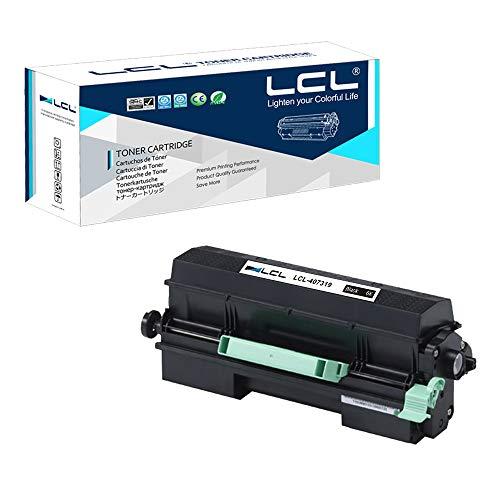 LCL Compatible Toner Cartridge Replacement for Ricoh 407319 SP 4500A 3600DN 3610SF 4510DN 4510SF SP 3600DN 3610SF 4510DN 4510SF (1-Pack Black)