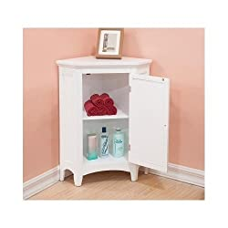 corner storage cabinet for small bathrooms