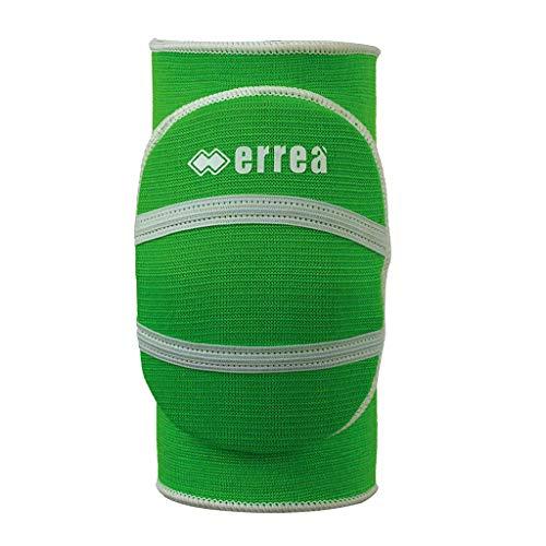 Erreà Atena Knieschoner Limited Edition · Accessoires Schoner Knieschützer Volleyball Athena Knee Pads Set Paar · Unisex Jungen Mädchen Jungs Mädels · Farbe neon-grün, Kinder, Größe XS