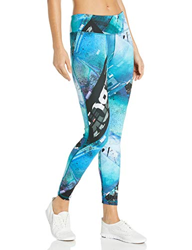 Reebok Training Supply Lux Bold Tight 2.4, Seaport Teal, XL