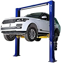 APlusLift HW-10KOH 10,000LB Two Post Overhead Auto Hoist Clear Floor Car Lift with Combo (Symmetric and Asymmetric) Arms / 24 Months Parts Warranty