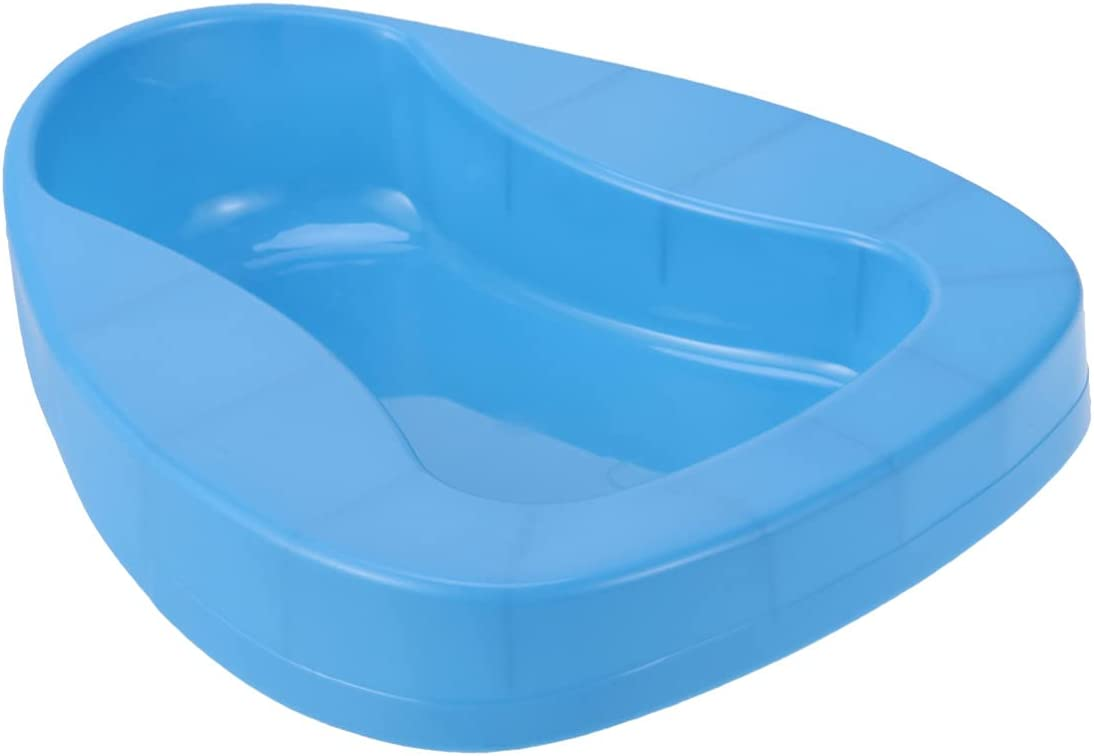 Max 47% OFF DOITOOL Nippon regular agency Firm Thick Stable PP Bedpan Heavy Duty Smooth Countoured
