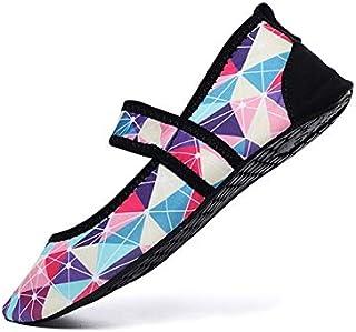 Women Aqua Shoes Beach Wear Swimming Pool Footwear Barefoot Female Fishing Water Sneakers Non-Slip Walking Water Shoes Gaodpz (Color : Purple, Size : 35)