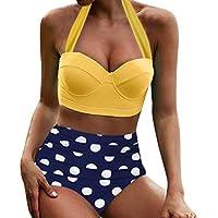 Poachers bañadores de Mujer reductores 2 Piezas Traje de baño Mujer Tallas Grandes Bikinis Mujer 2019 brasileños Tanga Traje de baño Deportivo Mujer Bikinis Mujer Tallas Grandes Ropa de baño