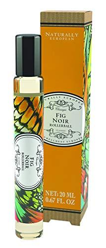Naturally European Eig Noir Rollerball | Essential Oils | Perfume Rollerball | No SLS and Parabens