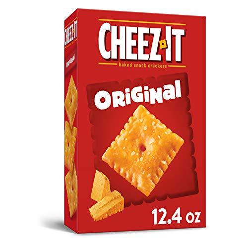 Cheez-It Baked Snack Crackers, Original, 12.4 oz