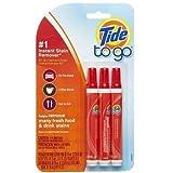 3x Tide To Go Instant Stain Remover Liquid - Fleckenentferungung -USA-