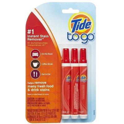 3 x Tide To Go Instant mancha de limpieza Liquid - Fleckenentferungung - Estados Unidos-