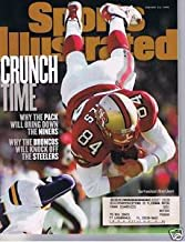 1/12/98 Sports Illustrated - BRENT JONES 49ers Cover