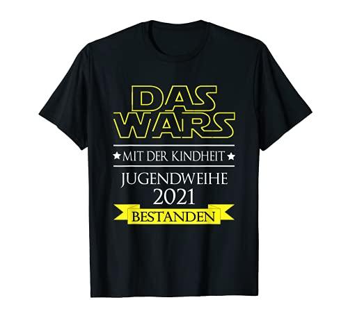 Jugendweihe 2021 Jugendweihefeier Teenager T-Shirt