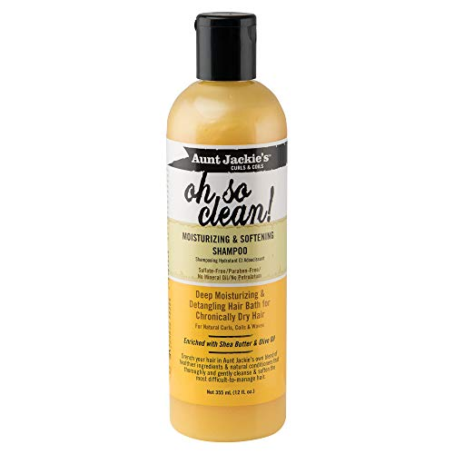 Aunt Jackies Moisturizing and Softening Shampoo, Oh So Clean! 355 ml