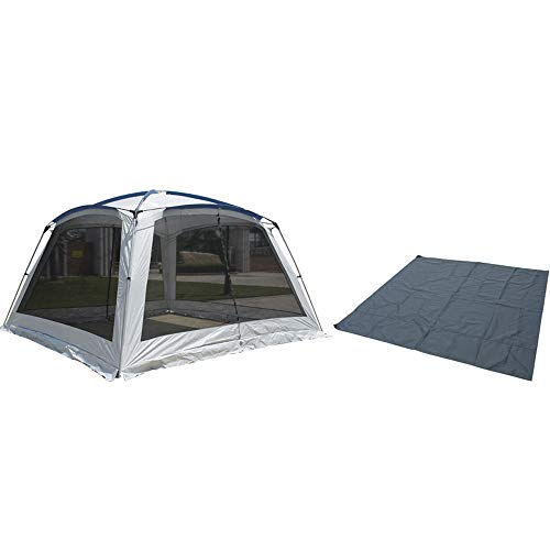 Forall-Ms 3×3m Beach Tents Shelters Large,Portable Waterproof Gazebo Garden Camping Gazebos with Sides Sun Shade Shelter for Kids and Adult,B