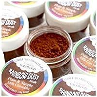 Rainbow Dust Plain and Simple Dust Colouring - Milk Chocolate