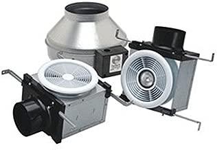 Fantech PB 270L7V-2 270 CFM Dual Grille Bath Fan 7WLED Light and Vent only, Uses 4