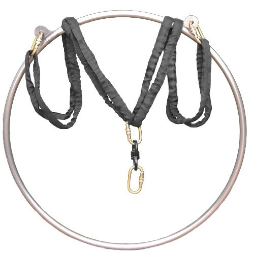 Review Of runner deer Complete Lyra Aerial Hoop Kit -Aerial Rings Equipment,Include a Stainless Stee...