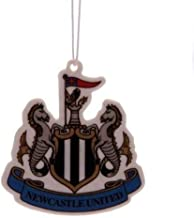 Newcastle United F.C. Air Freshener CR- crest air freshener- approx 7cm x 6cm- on a header card- Official Football Merchandise