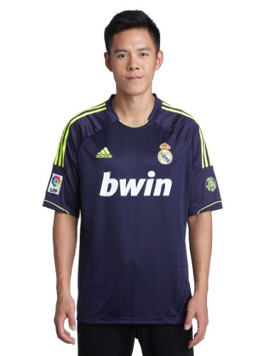 adidas Herren Auswärtstrikot Real Madrid, lila/gelb, L, X21992