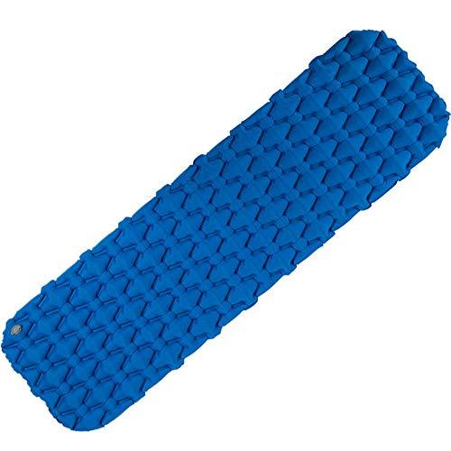 AoYan Aufblasbare Matte - Tragbare, aufblasbare Ultraleicht-Isomatte, Luftzellen-Stützschlafmatten-Reiseauflage für Außenzelte, kompakt und feuchtigkeitsbeständig