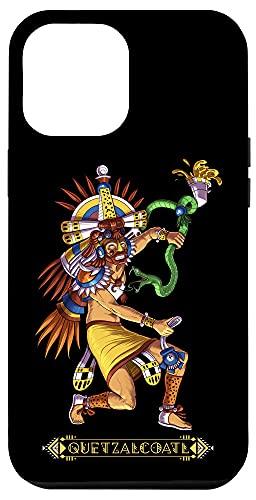 iPhone 12 Pro Max Quetzalcoatl Snake Aztec God Mythology Ancient Mayan Deity Case