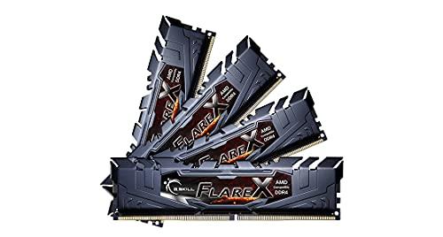 G.Skill Flare X for AMD F4 3200C16Q 64GFX Module de mémoire 64 Go 4 x 16 Go DDR4 3200 MHz