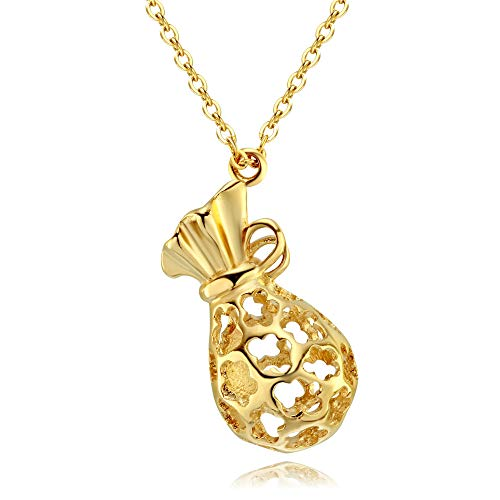 Ningz0l Halsketting voor vrouwen, eenvoudig en stijlvol titanium staal met goud pruim holle doorboorde sleutelbeen ketting vrouwelijk sieraad