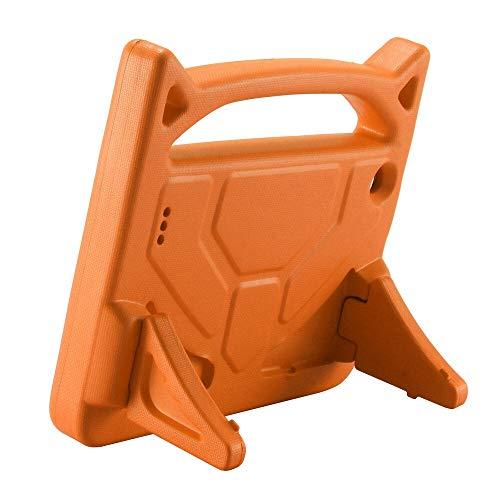 ghn Funda protectora para tablet Amazon Kindle Fire 7 2015/2017 con mango de goma EVA y soporte para tablet de 7 pulgadas, 20J de envío de caídas (color: naranja)