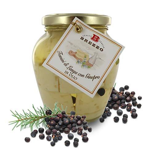 Brezzo Queso Pecorino en Aceite Aromatizado con Enebro | 280g