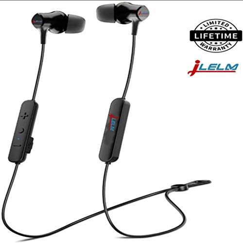 Bluetooth Headphones, Acil Wireless Headphones, 11hrs Playtime, Hi-Fi Sound, 8mm Dynamic Drivers, IPX5 Sweatproof, Knowles Balanced Armature, Noise Cancelling Headphones Earbuds for Sport & Gym
