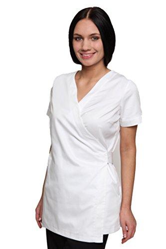 Damen Shakina Beauty Tunika Uniform Gr. Small, weiß