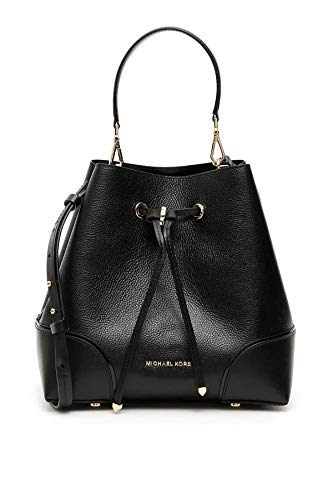 MICHAEL Michael Kors Mercer Gallery Medium Convertible Bucket Shoulder Black One Size
