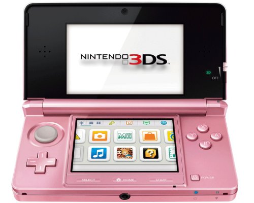 Nintendo 3DS - Konsole, coral pink