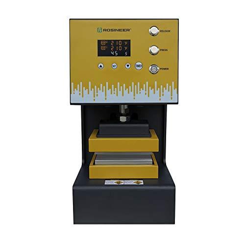 Rosineer Auto Hybrid Heat Press Machine, Plug-N-Play, 4 Ton Force, 3' x 5' Insulated Plates, Sturdy & Effortless