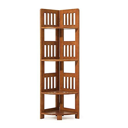 Organizador de almacenamiento de escritorio, estante de exhibición con diseño de soporte triangular, diseño de barra posterior y protección del medio ambiente, adecuado para sala de estar,four Floor