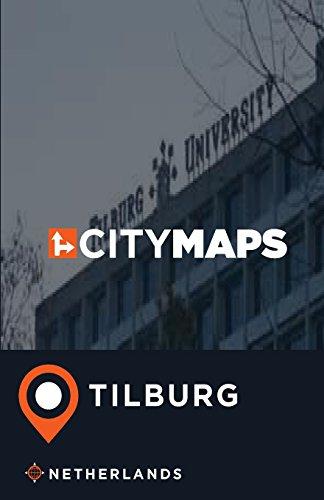 City Maps Tilburg Netherlands