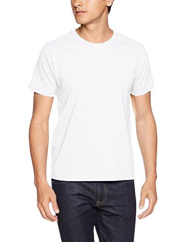 [プリントスター] 半袖 6.6オンス ハイグレード Tシャツ 00158-HGT メンズ ホワイト 日本 M-(日本サイズM相当)