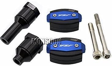 Blue Body Frame Sliders Crash Protector Motobike Falling Protection For YAMAHA YZF-R1 YZF-R1S YZF-R1M