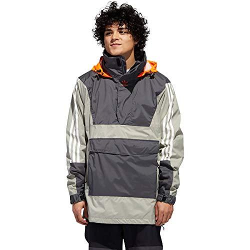 ADIDAS Snowboarding ANR10KJCKT Anorak JacketGREY SIX/FEATHER GREY/ORANGE Size L