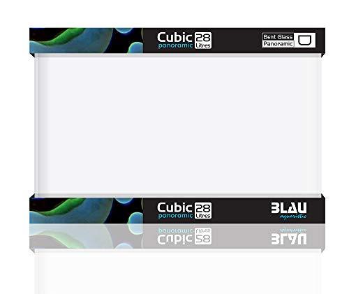 Blau Aquaristic Cubic Panoramic 40X25X28 Cm 28 litros 6300 g
