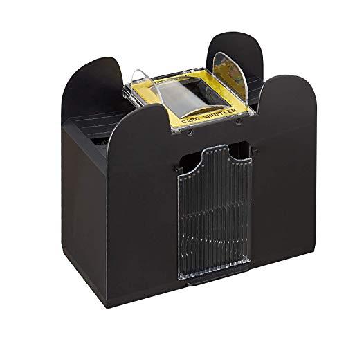 Der automatische Shuffler Spielzeug Relaxdays Card Mixer Electric 6 Decks Batteriebetriebene Kartenmischmaschine kann 6 Kartenspiele mischen