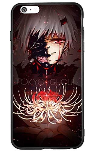 Funda para Apple iPhone 7 / iPhone 8 / iPhone 7 Plus/iPhone 8 Plus/iphoneX, Tokyo Ghoul Manga Anime Comic Nueva Funda de TPU (3, iPhone 6 Plus/iPhone 6s Plus)
