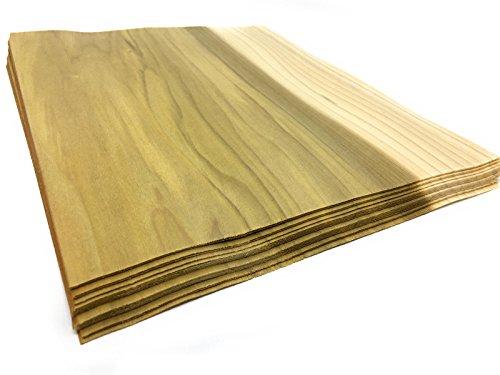 15-17 Furniere in der Holzart Tulpenbaum, Gesmatmenge: 0,8qm; Edelfurnier geeignet für: Modellbau Ausbesserungsarbeiten Foto Geschenk Preisschilder basteln Intarsien