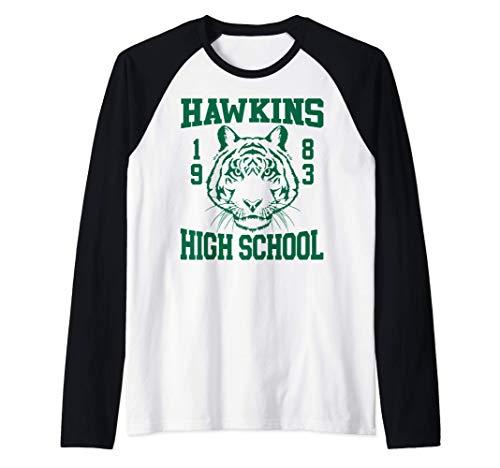 Netflix Stranger Things Hawkins High School 1983 Camiseta Ma