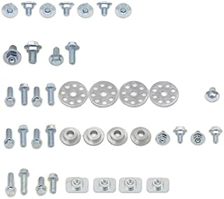 Bolt Motorcycle Hardware (HON-0609020) Full Plastics Fastener Kit