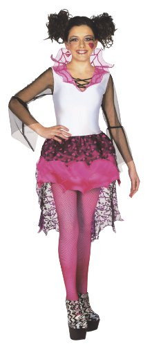 Ludendo Costume Deluxe de Draculaura - Monster High Taille : 10/12 ans (138 à 150 cm)