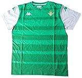 Kappa Arvin Betis Camiseta, Hombre, Verde/Blanco, XL
