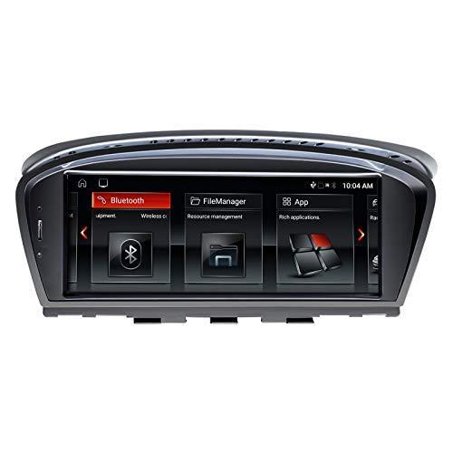 Navigatore GPS per Auto Android 10 Stereo Automatico per BMW Serie 3 Serie 5 E90 E60 2005-2008 Sistema CCC Quad Core 2 GB RAM 32 GB Rom con Sistema iDrive Touch Screen da 8,8 Pollici con Carplay WiFi