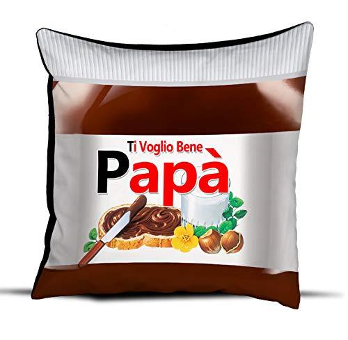 quickgadget Idea Arredo Casa Regalo Cuscino Festa del papà, Compleanno, Ti Voglio Bene papà Cioccolato